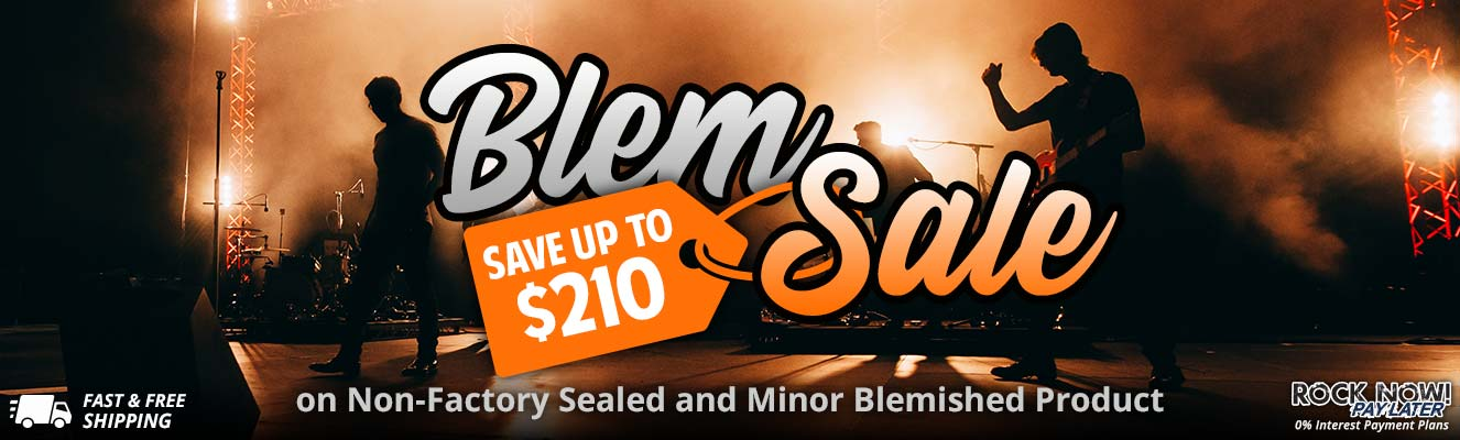 Blem Sale - Save up to $210 This Week Only!