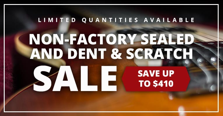 Non-Factory Sealed and Dent & Scratch Sale!