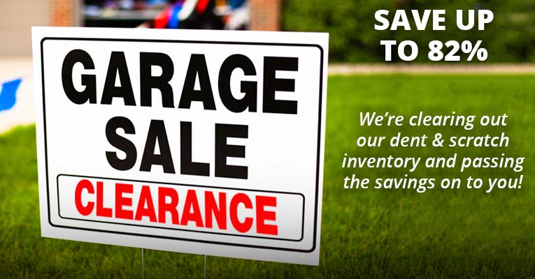 Garage Sale Clearance