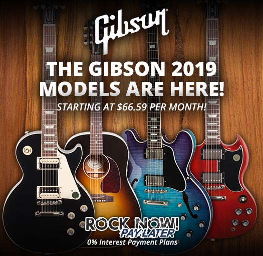 The Gibson 2019 models are here!