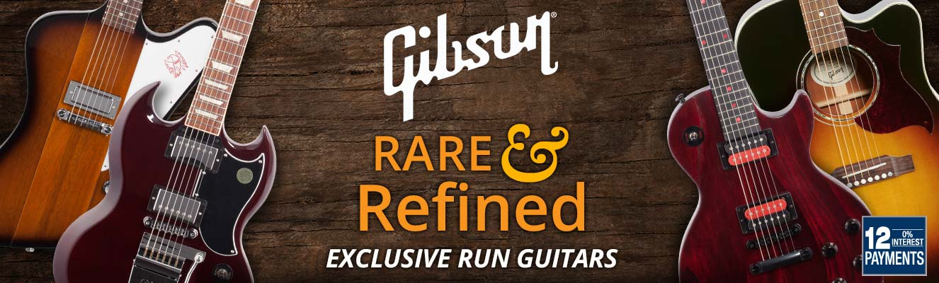 Rare and Refined Gibson exclusive run guitars!