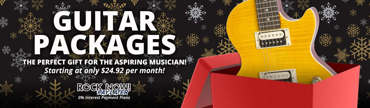 Guitar Packages make the perfect gift!