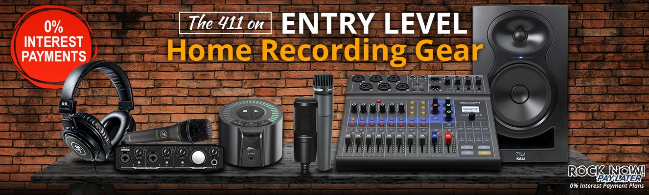 Entry Level Home Recording Gear