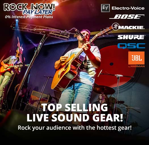 Top Selling Live Sound Gear