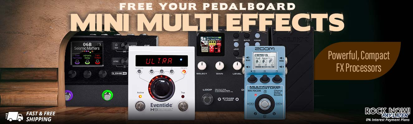 Free Your Pedalboard | Mini Multi Effects