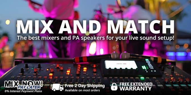 Mix and Match Live Sound Gear