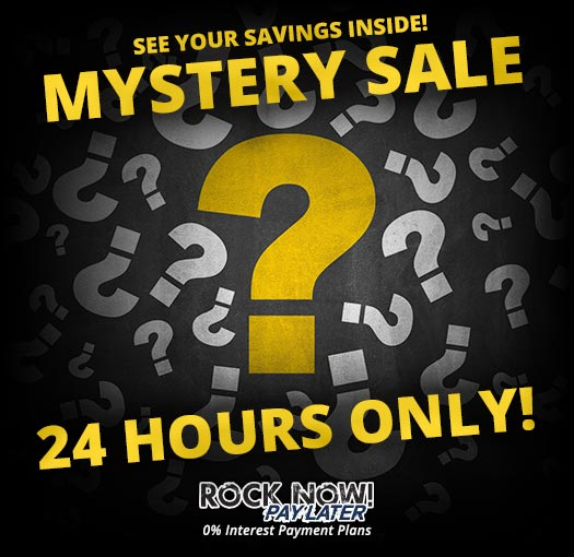 Mystery Sale! 24 Hours Only!