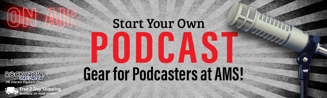 Podcast - Gear for Podcasters at AMS!