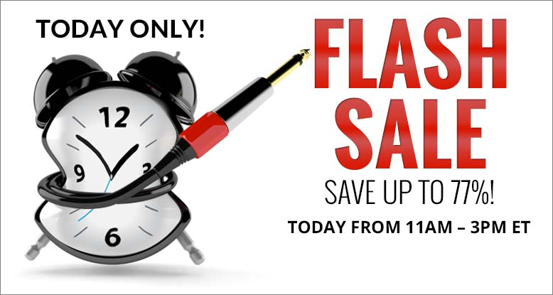 Flash Sale 4 Hours Only