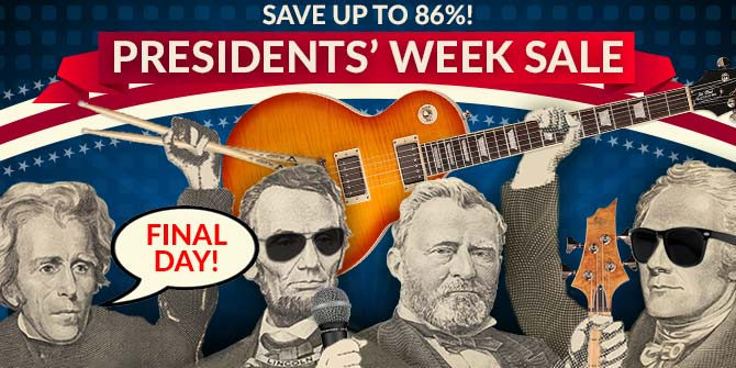 Presidents Week Sale