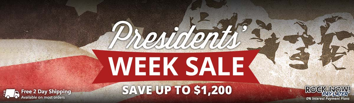 Presidents' Week Sale! Save up to $1,200