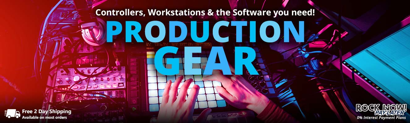 Production Gear - Controllers, Workstations & Software