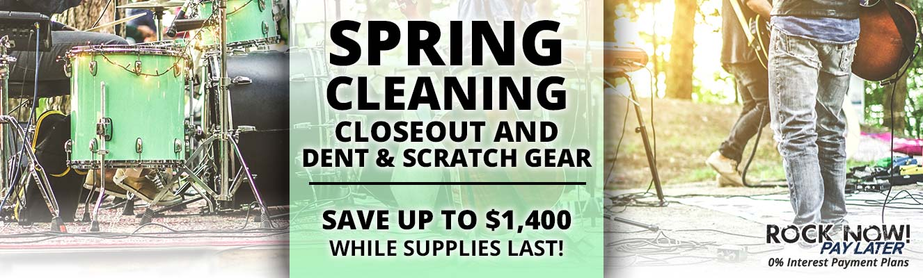 Spring cleaning Closeout and Dent & Scratch Gear!