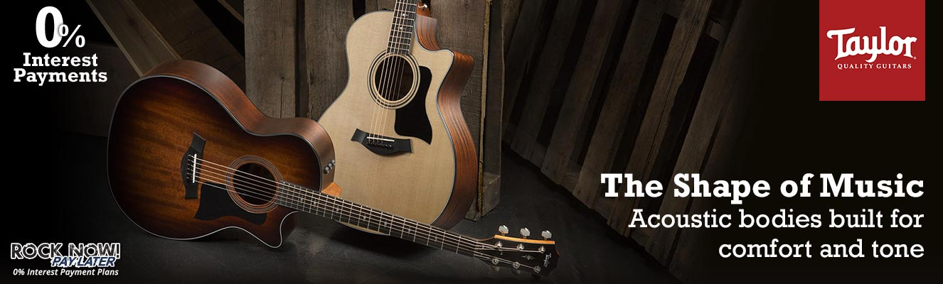 Taylor Guitars | The Shape of Music
