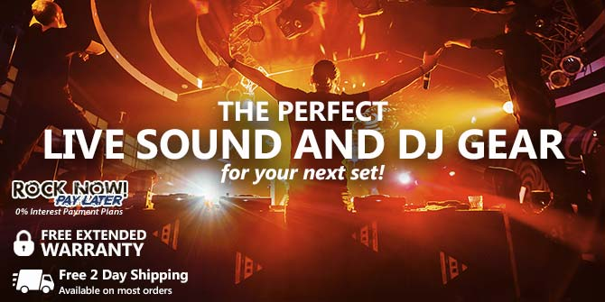 Top Selling Live Sound and DJ