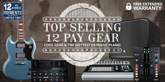 Top Selling 12 Pay Gear