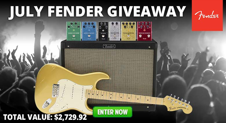 July Fender Giveaway