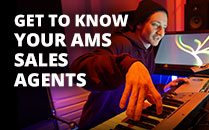 Get to Know your AMS Sales Agent