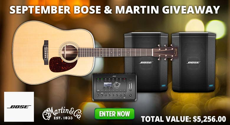 September Bose and Martin Giveaway
