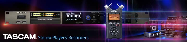 Tascam Stereo Players Recorders