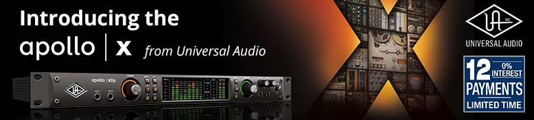 Introducing the Apollo X Series from Universal Audio!