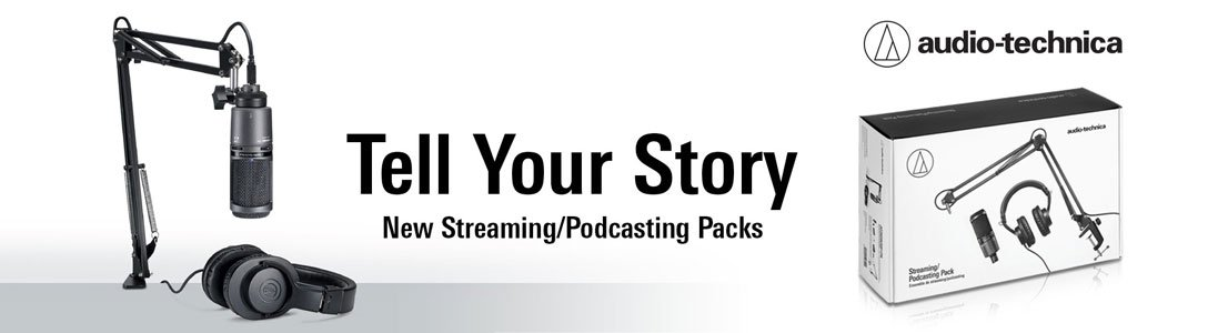 Tell Your Story - New Streaming/Podcasting Packs