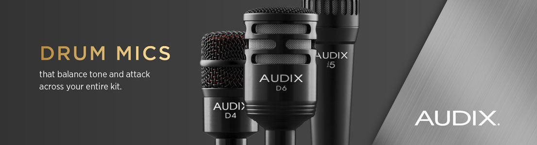 Drum Mics that balance tone and attack across your entire kit.