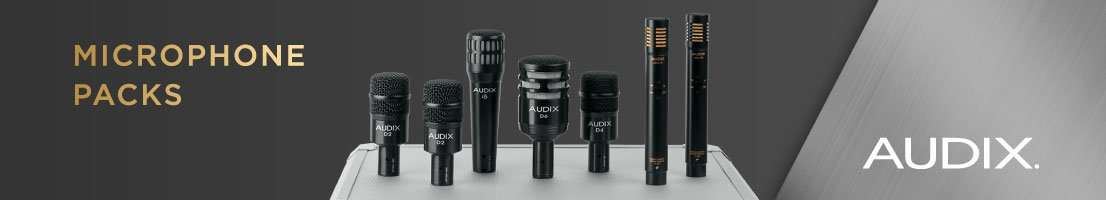 Audix Microphone Packages