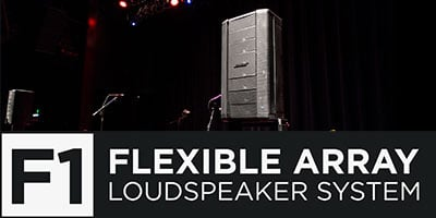 F1 Flexible Array Loudspeaker System