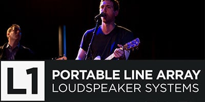 L1 Portable Line Array Loudspeaker Systems