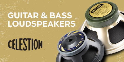 Guitar & Bass Loudspeakers