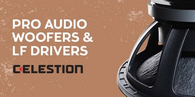 Pro Audio Woofers & LF Drivers