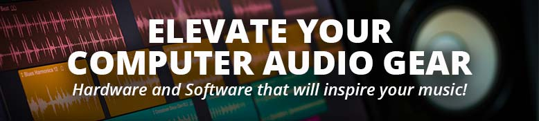 Elevate your computer audio gear with new hardware and software!
