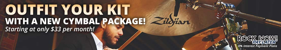 Outfit your kit with a new cymbal package!