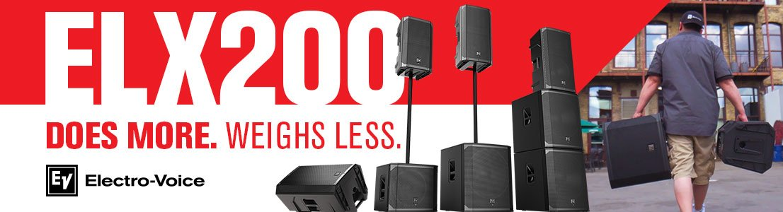 ELX200 Does More. Weighs Less.