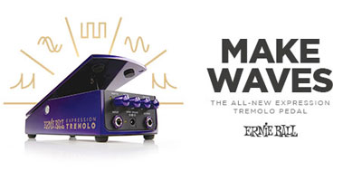The All-New Expression Tremolo Pedal