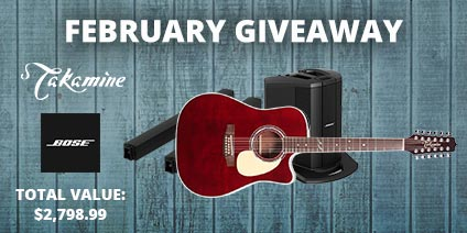February Giveaway