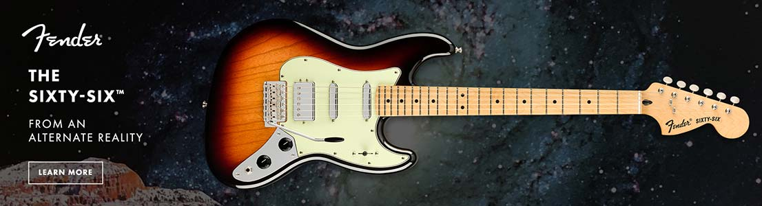 Fender LE Alternate Reality Sixty Six 3 Color Sunburst