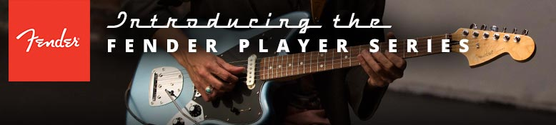 Introducing the Fender Player Series guitars and basses!