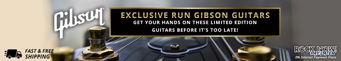 New exclusive run gear from Gibson!