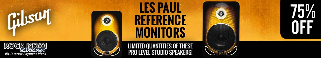 Save 75% on Gibson Les Paul Studio Monitors