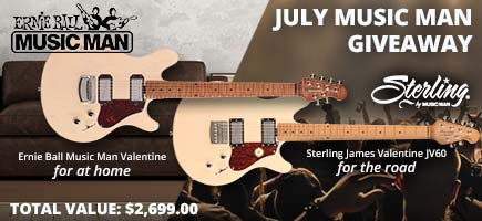 July Music Man Giveaway