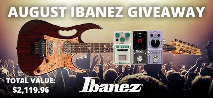 August Ibanez Gear Giveaway