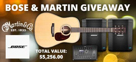September Bose and Martin Gear Giveaway