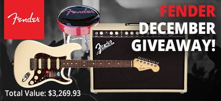 December Fender Giveaway