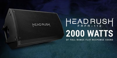 HeadRush FRFR-108 & FRFR-112 Powered Cabinets