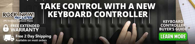 Take control with a new keyboard controller!