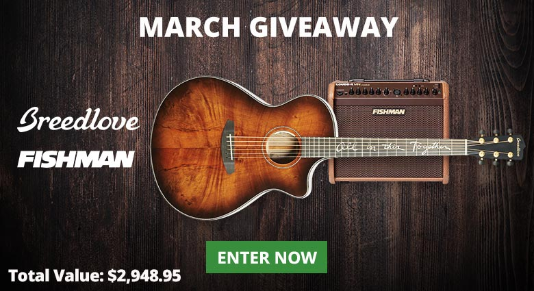 Enter our March Giveaway