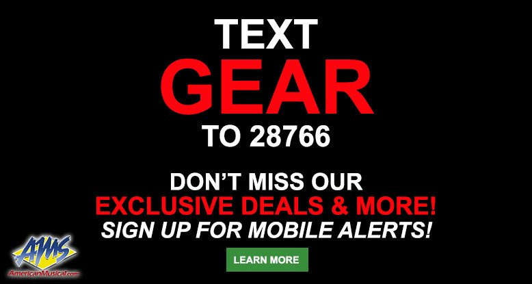 Text GEAR to 28766 for exclusive deals & more