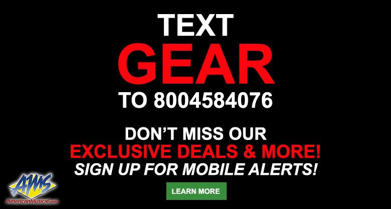 Text GEAR to 8004584076 for exclusive deals & more